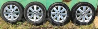 Продам зимнюю резину с литьем на Honda HR-V. 6.0x16 5x114.30 ET45
