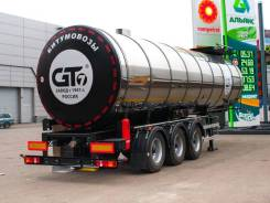 GT7 ППЦБ-33. Битумовоз ППЦБ-33 (с термоизоляцией), 33,00куб. м. Под заказ