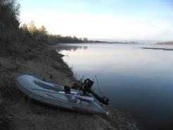 Badger. длина 2,70м., двигатель подвесной, 6,00л.с., бензин