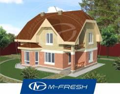 M-fresh Semantica-зеркальный (Мансардный этаж, эркер в гостиной). 200-300 кв. м., 2 этажа, 5 комнат, бетон