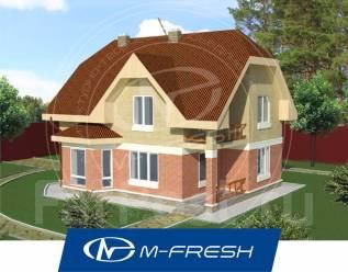 M-fresh Semantica-зеркальный (Дизайн фасадов, расчет кровли). 200-300 кв. м., 2 этажа, 5 комнат, бетон
