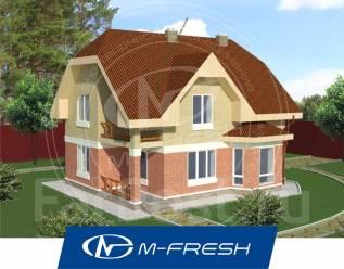 M-fresh Semantica (Свежий проект дома для лучшей жизни на природе! ). 200-300 кв. м., 2 этажа, 5 комнат, бетон