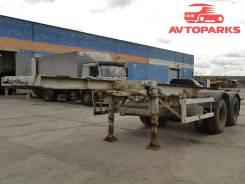 МАЗ МТМ. Полуприцеп- контейнеровоз - мтм-933060, 22 600 кг.