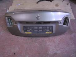 Крышка багажника. Renault Fluence, L30R, L30T Двигатели: K4M, M4R