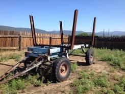 2ПТС-4. Продаётся тракторный прицеп-лесовоз, 3 500 кг.