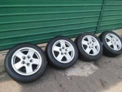 Комплект колес на Nissan R16 лето. 7.0x16 5x114.30 ET40
