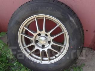 Продам колеса Bridgestone Playz RV 215/65R16 на литье Enkei. 7.0x16 ET38