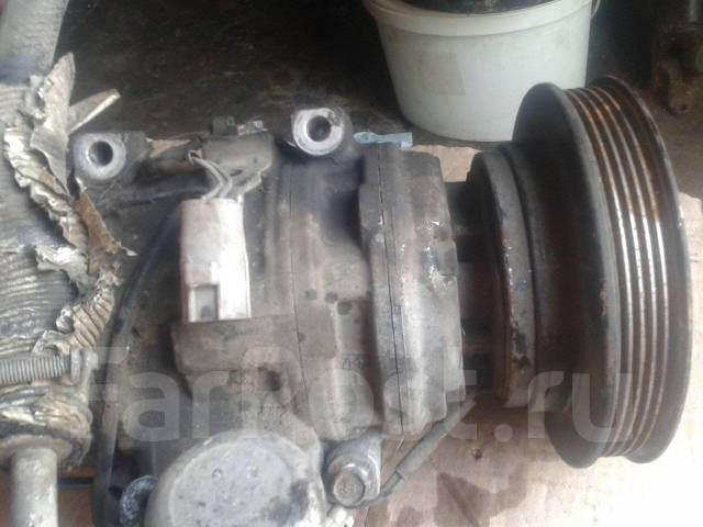 Шкив компрессора кондиционера. Toyota Corona, ST190 Двигатель 4SFE