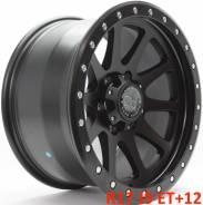 Black Rhino. 9.0x17, 6x139.70, ET12, ЦО 110,1мм.