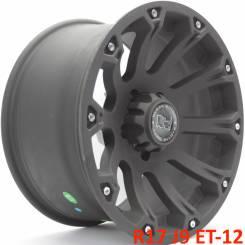 Black Rhino Sidewinder. 9.0x17, 5x127.00, ET-12, ЦО 71,6мм.