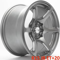 Advan Racing RGIII. 8.0x15, 4x100.00, 4x114.30, ET20, ЦО 73,1 мм.