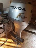 Honda. 90,00л.с., 4х тактный, бензин, нога L (508 мм), Год: 2005 год