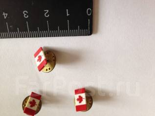 Значок нагрудный Флаг Канады