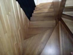 Лестницы бетонные, деревянные, с ковкой