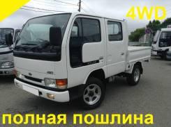 Nissan Atlas. 4WD, двухкабинник + борт, 3 200 куб. см., 1 500 кг.