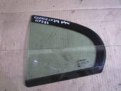 Стекло двери задней левой глухое Renault Fluence 2010-