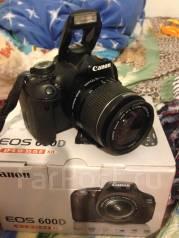 Canon EOS 600D Kit. 20 и более Мп. Под заказ