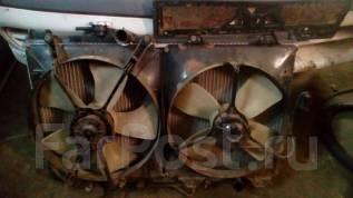 Радиатор охлаждения двигателя. Toyota Vista, CV30, SV30, SV32, SV33, SV35 Toyota Camry, CV30, SV30, SV32, SV33, SV35 Двигатели: 3SFE, 3SGE, 4SFE