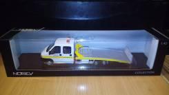 Peugeot Boxer Portair Tow Truck (Norev) 1:43