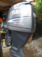 Yamaha. 100,00л.с., 4х тактный, бензин, нога X (635 мм), Год: 2010 год