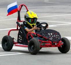 Детская секция по обучению вождению на спортивных автомобилях багги