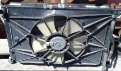 Радиатор охлаждения двигателя. Toyota Allion, ZZT245 Двигатель 1ZZFE