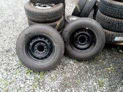 Bridgestone Blizzak VL1. Всесезонные, 2013 год, износ: 20%, 2 шт