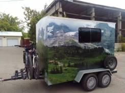 Самодельная модель. Продам дом на колёсах, возможен обмен., 1 000 куб. см.
