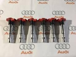 Катушка зажигания. Audi: A6, S4, A8, Coupe, Q7, A4, A5, Quattro, S8, RS6, S5, A6 allroad quattro Volkswagen Touareg, 7LA, 7L6 Двигатели: BAR, AYH, BAN...