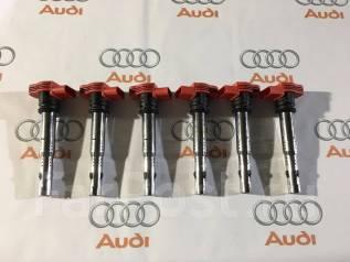 Катушка зажигания. Audi: S8, A4, Quattro, A6, Q7, A6 allroad quattro, S5, A8, A5, Coupe, S4, RS6 Volkswagen Touareg, 7L6, 7LA, 7L7 Двигатели: BPE, BKS...