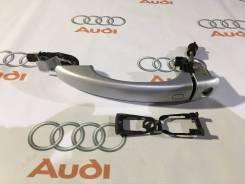 Ручка двери внешняя. Audi: A4 allroad quattro, Coupe, Q5, RS4, S4, S5, A4, A1, Q3, A5, RS5, Quattro Двигатели: CALA, CCWA, CAPA, CAEB, CDNC, CDNB, CDH...
