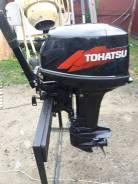 Tohatsu. 18,00л.с., 2х тактный, бензин, нога S (381 мм), Год: 2009 год