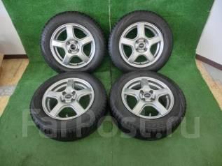 Продам комплект колес Bridgestone 175/65R14 на литье. 5.5x14 4x100.00 ET39 ЦО 72,0мм.