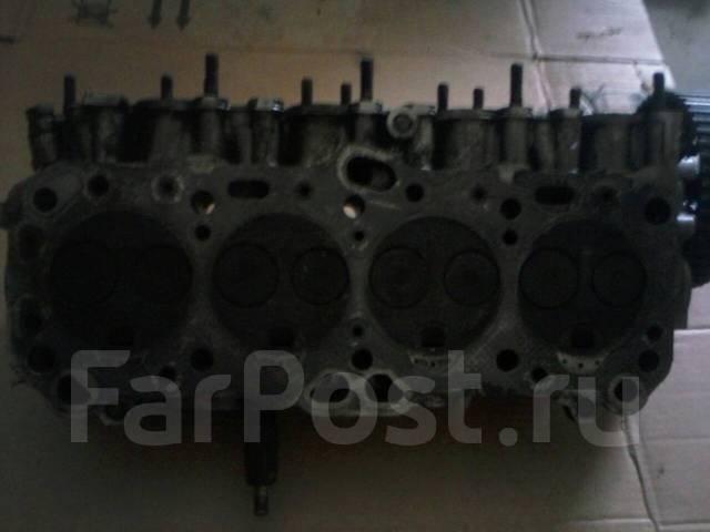 Головка блока цилиндров. Mitsubishi Galant Двигатель 4D65