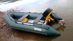 BRIG Dingo D300. Год: 2015 год, длина 3,00м., двигатель подвесной, 12,00л.с., бензин
