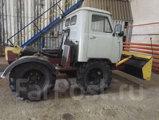 самодельный трактор. фото