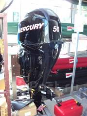 Mercury. 50,00л.с., 4х тактный, бензин, нога L (508 мм), Год: 2015 год