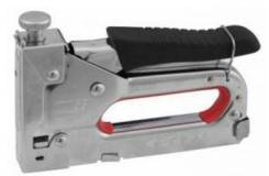 Пистолет ЗУБР МАСТЕР скобозабивной мет. пруж., регулируемый, тип 53, 4-14мм
