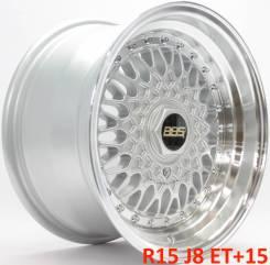BBS Super RS. 8.0x15, 4x100.00, 5x100.00, ET15, ЦО 57,1мм.
