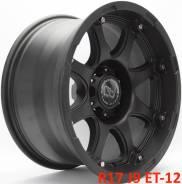 Black Rhino Glamis. 9.0x17, 6x139.70, ET-12, ЦО 110,1мм.