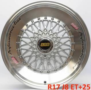 BBS Super RS. 8.0x17, 5x112.00, 5x120.00, ET25, ЦО 73,1мм.