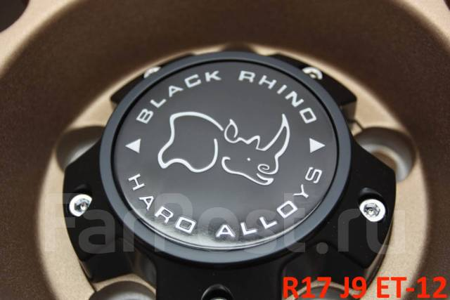 "Black Rhino Tanay. 9.0x17"", 5x127.00, ET-12, ЦО 71,6мм."