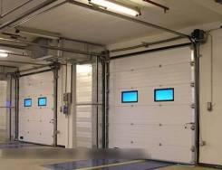 Установка секционных автоматических ворот. Сервисное обслуживание ворот