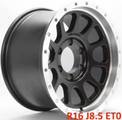 Новые! Dennon R16 J8.5 ET0 6X139.7 [2765]. 8.5x16, 6x139.70, ET0, ЦО 106,1мм.