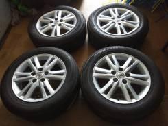 Комплект литых колес MARK X с летней резиной 215/60R-16 Bridgestone. 7.0x16 5x114.30 ET50 ЦО 63,0мм.