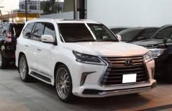 Обвес кузова аэродинамический. Lexus LX570 Lexus LX450d, URJ200 Двигатель 1VDFTV