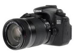 Canon EOS 60D Kit. 15 - 19.9 Мп, зум: без зума