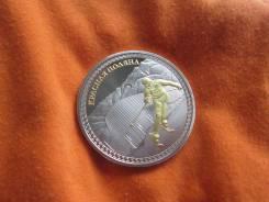 Горнолыжный спорт . Сочи-2014. коллекционная монета