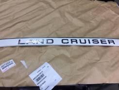 Эмблема багажника. Toyota Land Cruiser, HDJ101, FZJ100, HDJ100, HZJ105, UZJ100 Двигатели: 1HZ, 1FZFE, 2UZFE, 1HDFTE