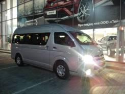 Аренда м/автобуса NEW Toyota Hiace 2016 г/в по городу, краю, региону. С водителем